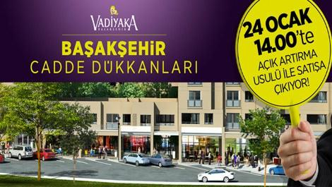 Vadiyaka Başakşehir'de 199 bin liraya dükkan!