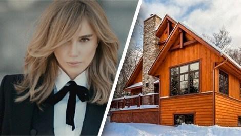 Gülşen'in beğendiği dağ evi