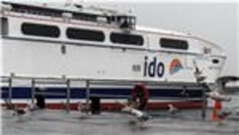 İDO, tüm deniz otobüsü seferlerini iptal etti