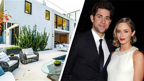 Emily Blunt ve John Krasinski'nin evi