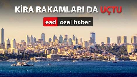 istanbul levent bölgesinin genel görünümü