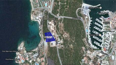 İzmir'de denize sıfır arsa!
