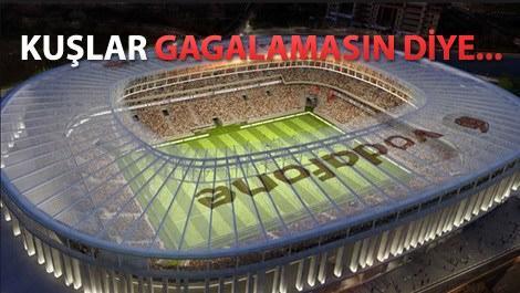 Vodafone Arena'nın çatısı değiştiriliyor