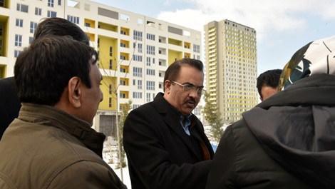 Tanveer Aslam Malik'ten Kayabaşı konutlarına ziyaret