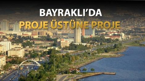 İzmir'deki markalı projelerin yoğunluk kazandığı Bayraklı bölgesi