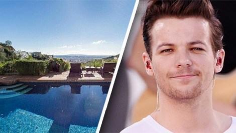 Louis Tomlinson, Los Angeles'ta lüks bir ev kiraladı