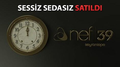 Nef Seyrantepe 39'da satışlar 2 saatte tamamlandı!