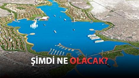 kanal istanbul projesinin havadan görünümü