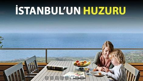 Huzurlu Marmara manzarası