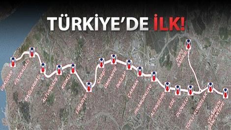 Üsküdar-Çekmeköy metro hattı