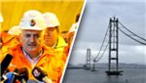 'Körfez Köprüsü'nden ilk geçiş mayısta yapılacak'