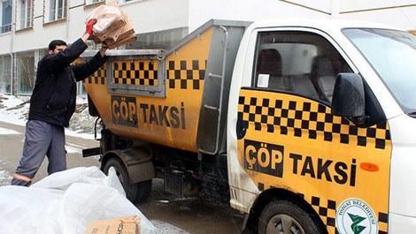 Yozgat'ta çevre kirliliğine çöp taksi uygulaması!