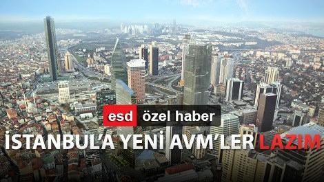 istanbul maslak bölgesinin havadan görünümü