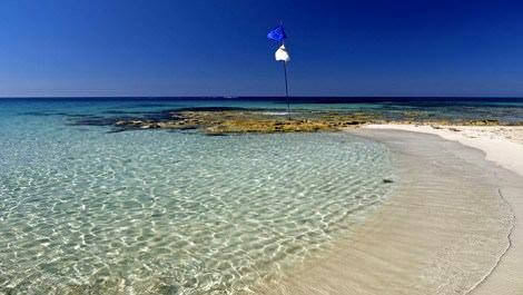 mavi bayraklı plaj