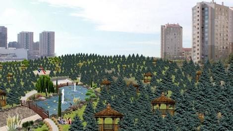 toki kayabaşı park projesi