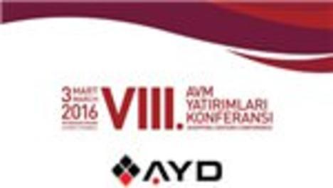 VIII. AVM Yatırımları Konferansı 3 Mart'ta düzenleniyor