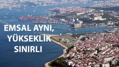 Kadıköy'de yükseklik sınırı getirilen bölgeler