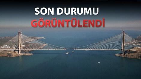 3. köprüde çalışmalar