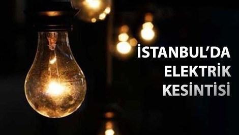 Anadolu Yakası'nda 3 ilçede elektrik kesintisi!
