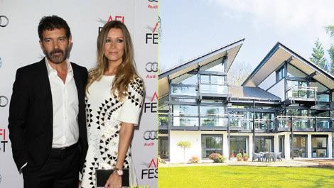 Antonio Banderas, 9.9 milyon TL'ye ev aldı