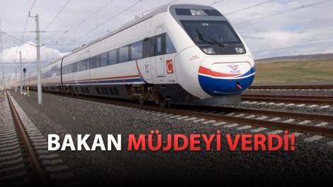 Türkiye'nin 14 şehri hızlı trenle bağlanacak
