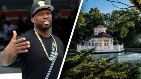 50 Cent'in evi huzur evi oluyor