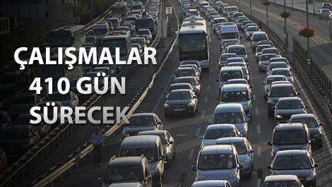 Mecidiyeköy'de trafik akışı için yeni düzenleme!
