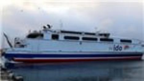 İDO Tuzla-Yalova deniz otobüsü seferlerine başladı
