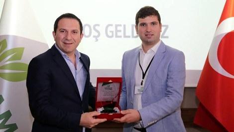 Özkan Ercan, 'Yılın Çıkış Yapan İş Adamı' seçildi