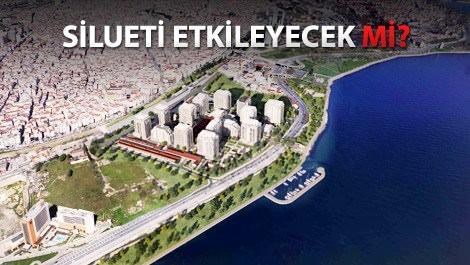 büyükyalı istanbul projesinin havadan görünümü