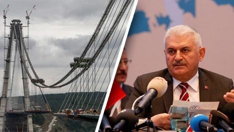 Bakan Binali Yıldırım'dan 3. köprü açıklaması!