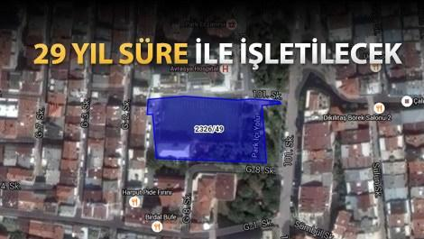 Zeytinburnu'ndaki alana 3 katlı otopark yapılacak