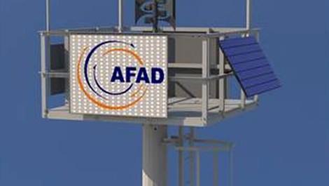 AFAD saldırı ve afetlere karşı akıllı direkler dikecek