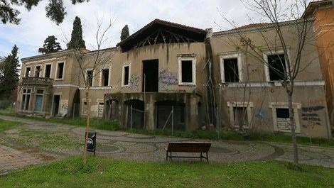 İzmir'deki ünlü Paterson Köşkü sanat merkezi oluyor