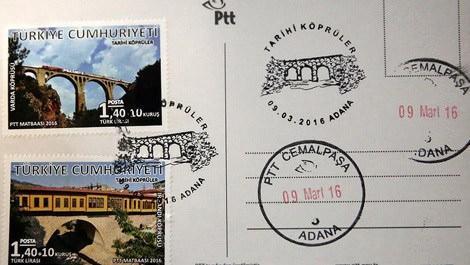 James Bond'un düştüğü köprüye özel posta pulu