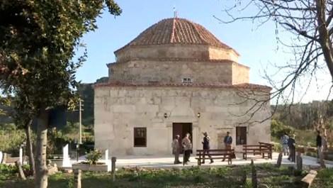 Antalya'daki Ağalar Cami ibadete açıldı!