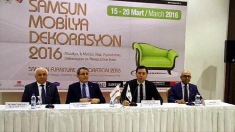 Samsun Mobilya ve Dekorasyon Fuarı 15 Mart'ta açılıyor