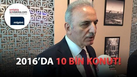 KİPTAŞ Genel Müdürü İsmet Yıldırım