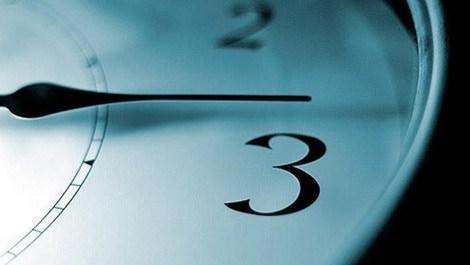 Saatler 27 Mart'ta bir saat ileri alınıyor