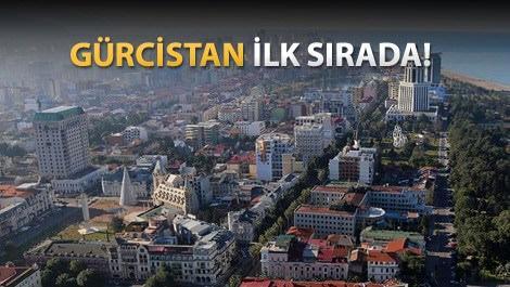 Türkler en çok komşu ülkeleri geziyor