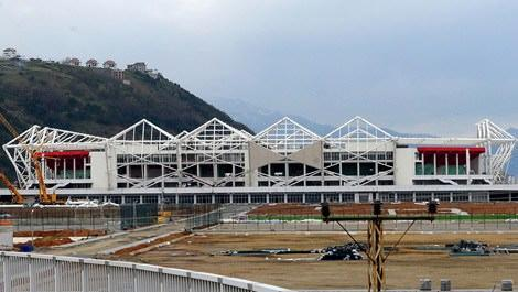 Akyazı Stadyumu'nda son durum
