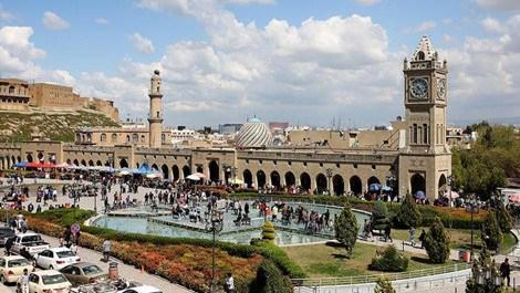 Erbil'deki saat kulesi