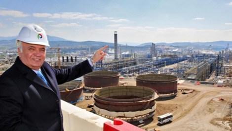 Ekonomi Bakanı Mustafa Elitaş, Petkim Yarımadası'nı ziyaret etti