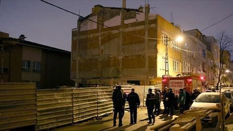 Bayrampaşa'daki yangında inşaat bekçisi hayatını kaybetti!