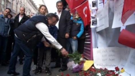 Ali Ağaoğlu Taksim'de