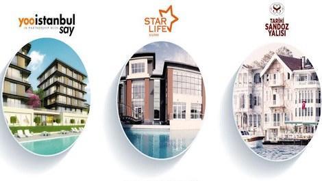 İstanbul'un lüks projesi 'yooistanbul' Cityscape Fuarı'nda