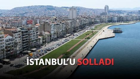İzmir Konak'ta metrekare fiyatı 10 bin liraya geldi!