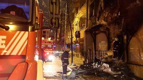 İstanbul'da öğrenci yurdunda yangın