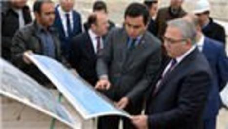 TOKİ Başkanı Turan, Kırşehir'de inceleme yaptı