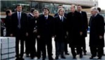 Cumhurbaşkanı Erdoğan, Taksim Meydanı'nı inceledi